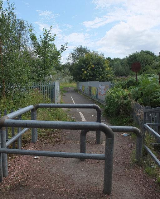 Bridge between Ravenhead Colliery and Thatto Heath