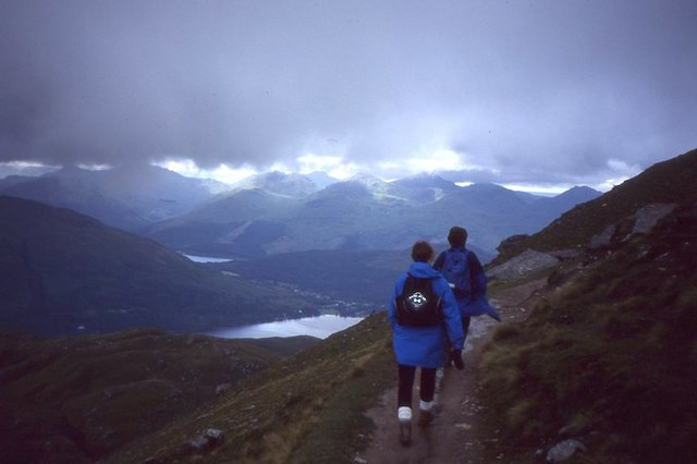 Path on Ben Lomond