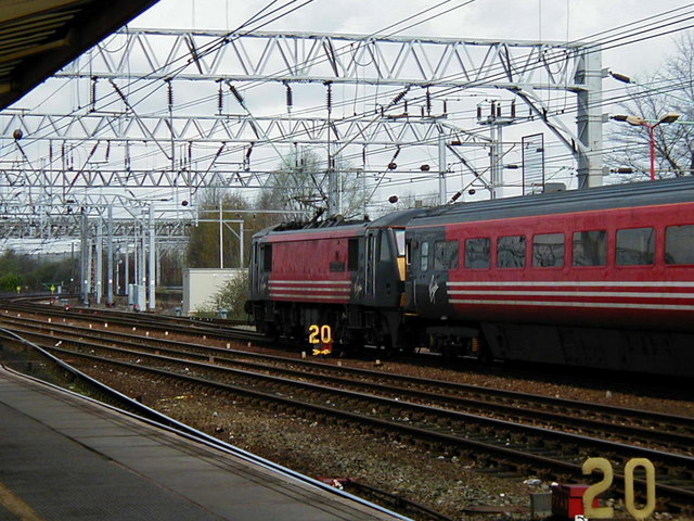 The old order at Crewe