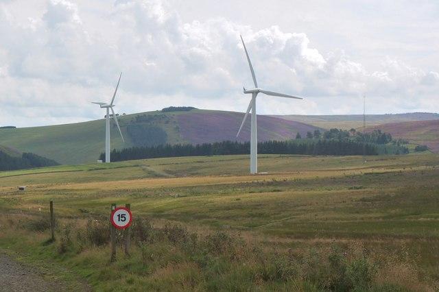 Carcant windfarm