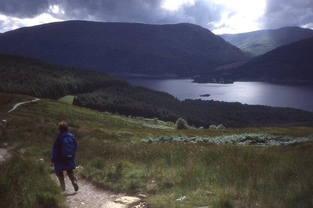 Path on Ben Lomond