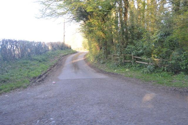 Road to Orlestone Church