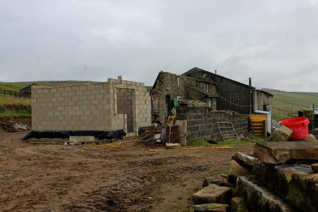 Reconstruction of Abel Cote Farm