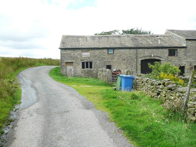 Barn, Green Hippins, Tod Holes Lane, Wigglesworth