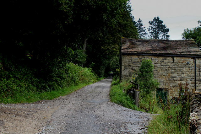 Outbuilding by Hollin Hall