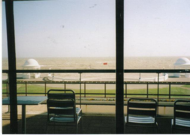 The sea front from De La Warr Pavilion