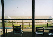 TQ7407 : The sea front from De La Warr Pavilion by David Howard archives