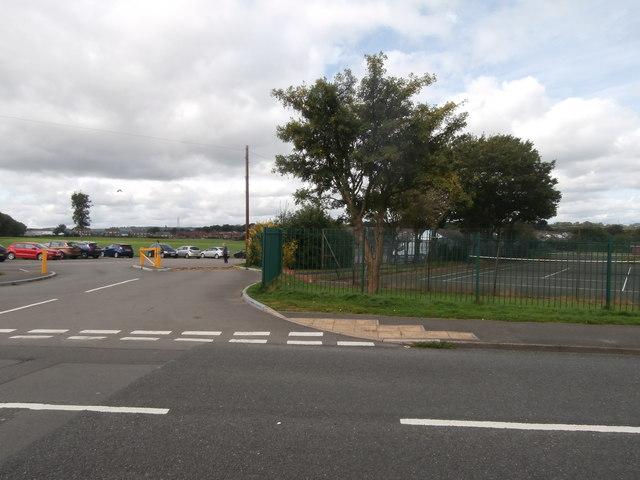 Tennis courts & recreation ground, Cefn Fforest