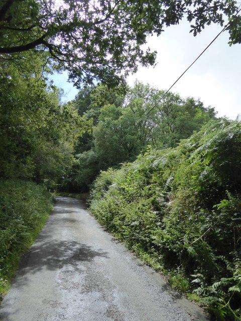 View south to Lambert Cross