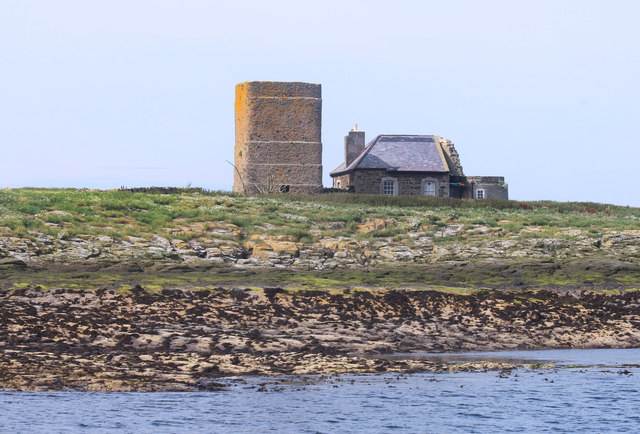 Tower and House on Brownsman Island