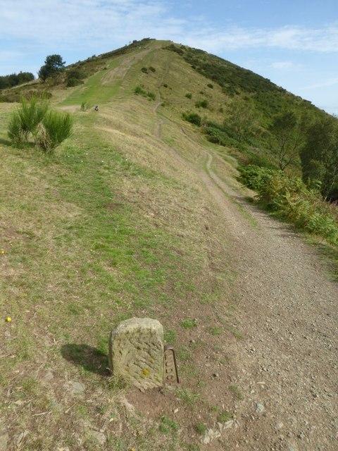 Boundary Stone on the Malvern Hills