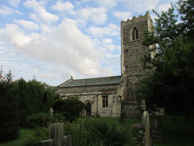 All Saints' church, Burstwick