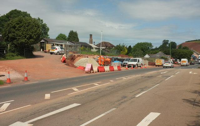Road widening, Ramshill Cross