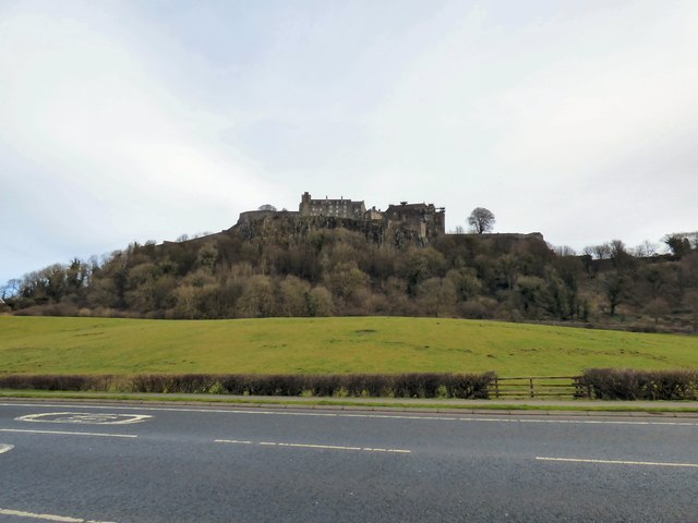 View towards Stirling Castle
