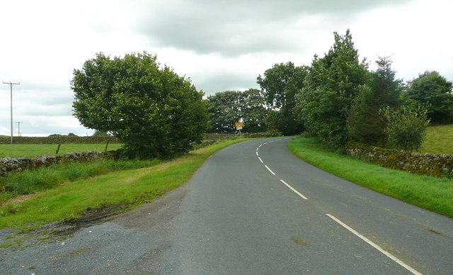 Jack Lane approaching Wigglesworth village