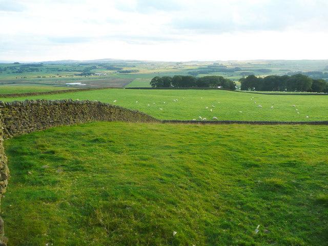 View from Edge Lane, Long Preston