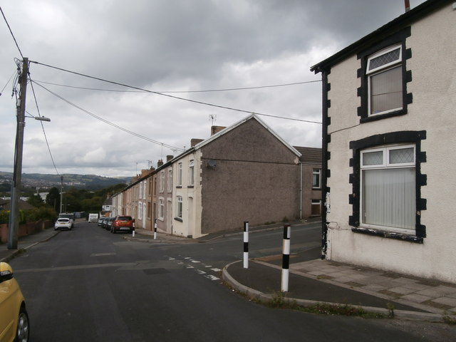 Edward St, Pengam, Blackwood