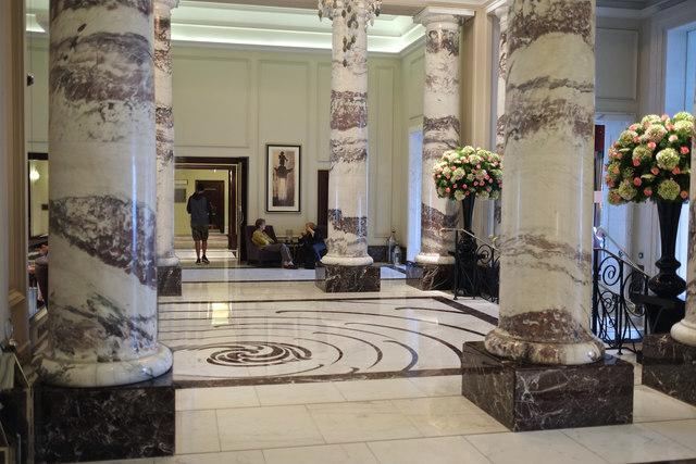 Entrance Hall and Lobby