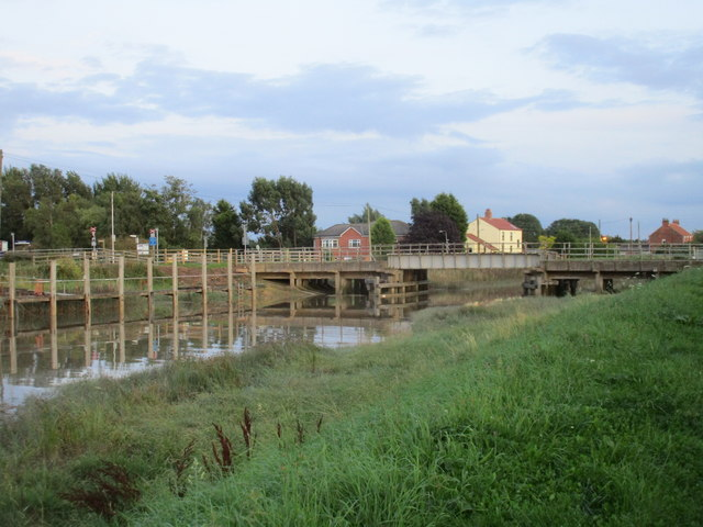 The railway bridge at Barrow Haven