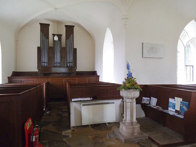 St Laurence, Aldfield - interior