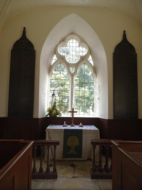 St Laurence, Aldfield - sanctuary