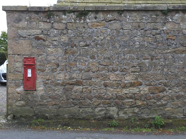 Postbox, Moor Lane, Aldfield