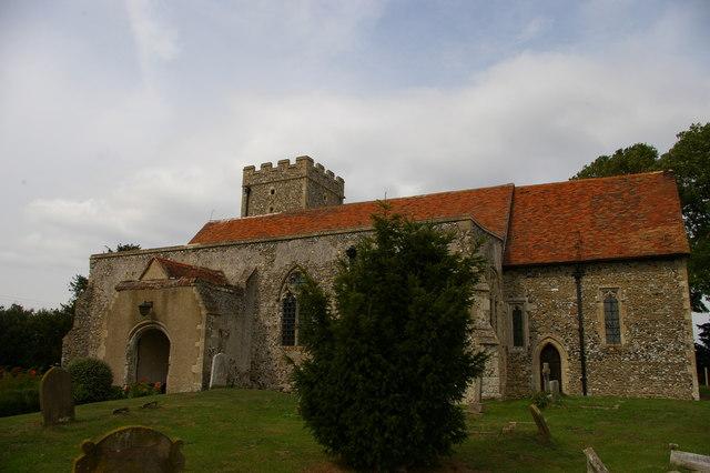 All Saints church, Graveney