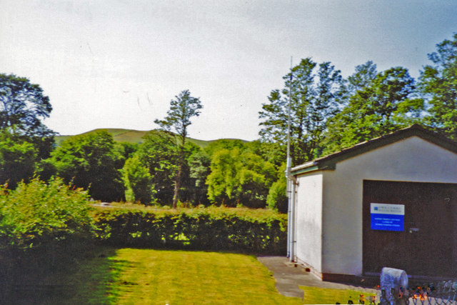 Site of Llanilar station, 2003