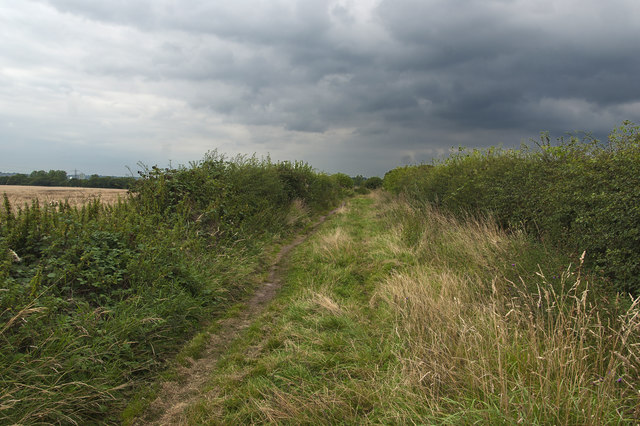 Public footpath to Prenton