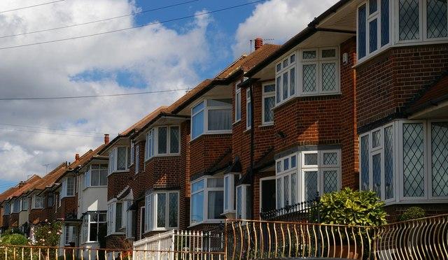 Suburban housing, Arnos Grove, N11