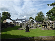 SD7336 : St Mary & All Saints, Whalley: churchyard (c) by Basher Eyre