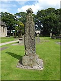SD7336 : St Mary & All Saints, Whalley: churchyard (e) by Basher Eyre