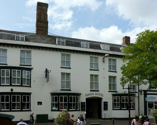 Swan Hotel, Greengate Street, Stafford