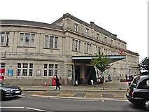 SS6593 : Swansea Railway Station by Roger Cornfoot