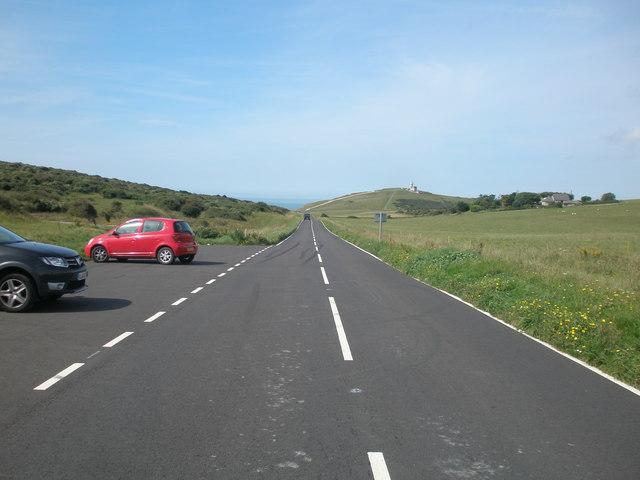 Beachy Head Road and Hod Combe