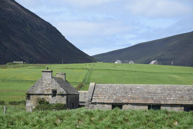 Abandoned farmstead, Linksness, Hoy, Orkney