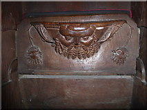 SD7336 : St Mary & All Saints, Whalley: misericord carving (viii) by Basher Eyre