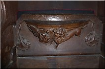 SD7336 : St Mary & All Saints, Whalley: misericord carving (xiii) by Basher Eyre