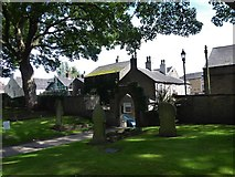 SD7336 : St Mary & All Saints, Whalley: churchyard (m) by Basher Eyre