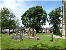 SD7336 : St Mary & All Saints, Whalley: churchyard (o) by Basher Eyre
