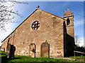 NY3167 : Gretna Old Parish Church by Gerald England
