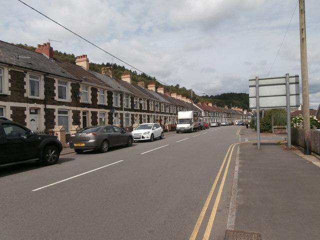 Glenview Terrace, Llanbradach