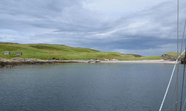 Port an Eilein anchorage, Handa Island