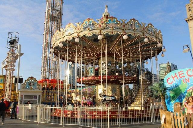 Fairground roundabout