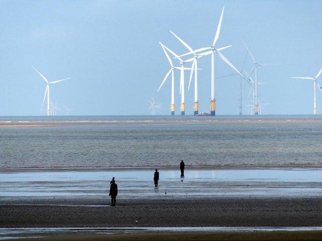 3 iron men plus windmills
