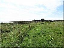 J6246 : Coastal path between the Port Kelly road and Ballyquintin farmhouse by Eric Jones
