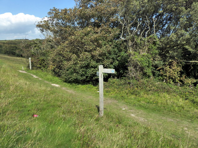 South Downs Way Bridleway Sign