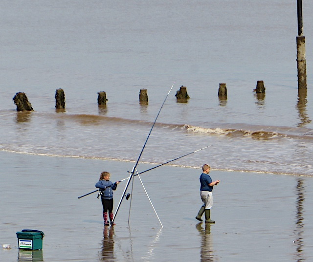 Beach casting, Withernsea
