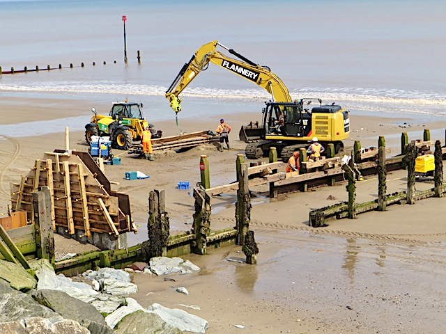 Groyne replacement, Withernsea