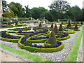 SE3144 : Part of the formal garden, Harewood House by Humphrey Bolton